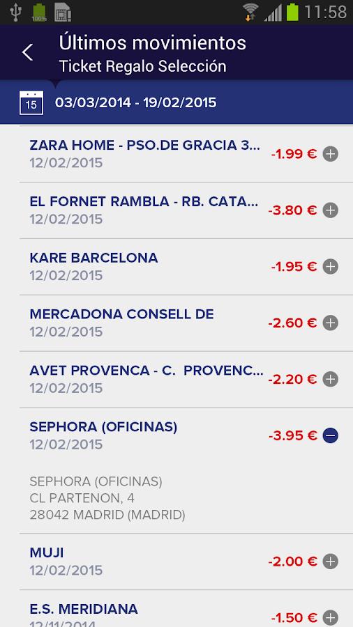 Edenred España - screenshot