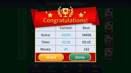 FreeCell Solitaire Classic u2013 free cell card game android2mod screenshots 6