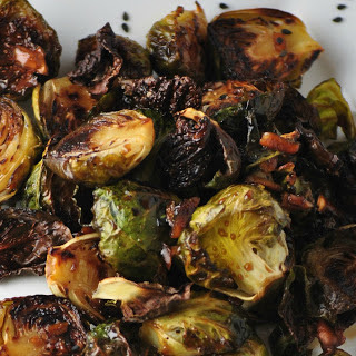 Korean BBQ Brussels Sprouts [Vegan]