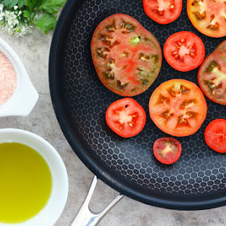 Fried Breakfast Tomatoes.