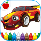 Cars Coloring Book Game icon