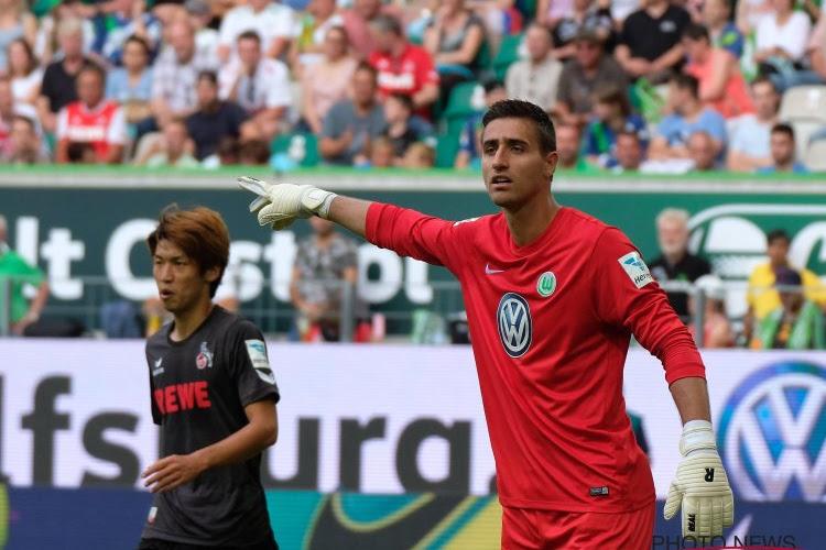 Casteels confirmé à Wolfsburg