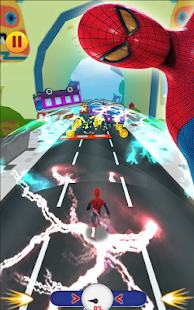 Super Spider Run: spiderman avengers subway Game - náhled