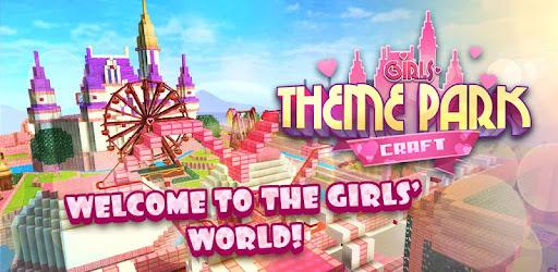 Girls Theme Park Craft Water Slide Fun Park Games By Survival