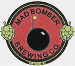Logo for Mad Bomber Brewing Company