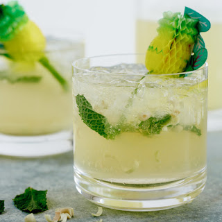 Pineapple, Lemongrass and Mint Sparkling Punch