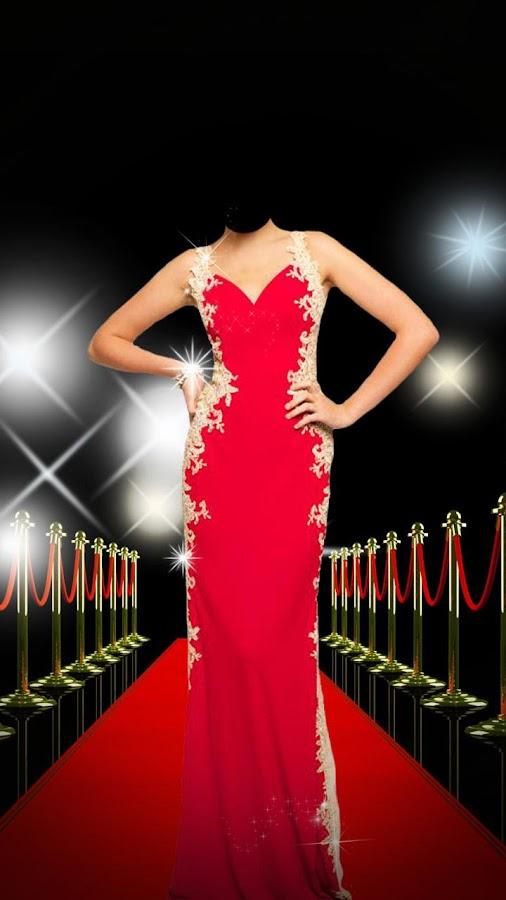 Red dress effect editor