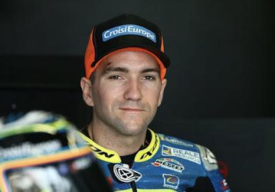 Xavier Siméon gaat ervoor in de MotoGP