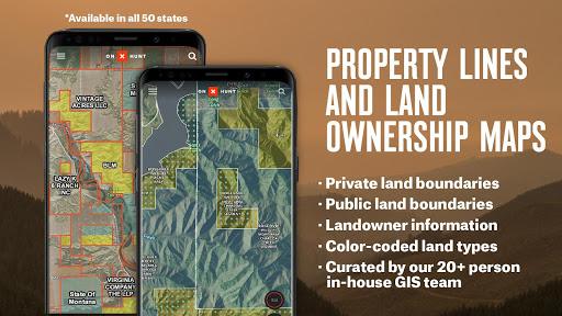 onX Hunt: Hunting Maps, Offline GPS/Nav & Weather screenshots 1