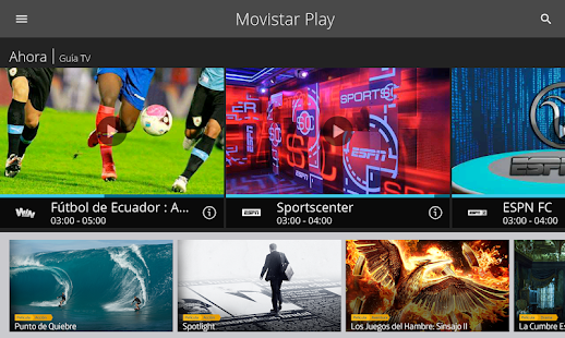 Movistar Play- screenshot thumbnail