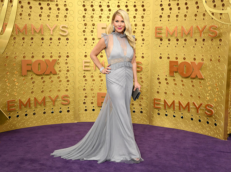 Christina Applegate in Vera Wang at the 2019 Emmy Awards.