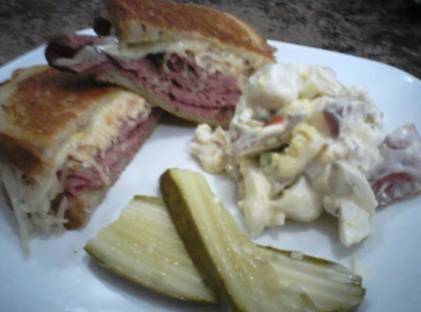 Ruben Sandwiches Recipe