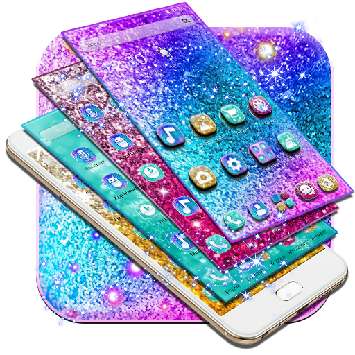 Colorful Glitter Dreamy Theme