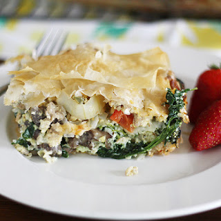 Phyllo Egg Brunch Casserole Recipe
