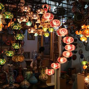 Lights !!! by Manoj Ojha - Buildings & Architecture Homes ( home, uae, almajaz, light, dsf, sharjah )
