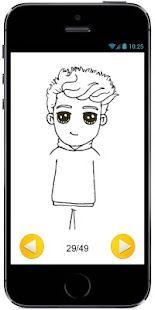 How to Draw Cute Jake Paul - Famous Youtuber #1 - náhled