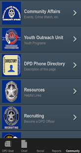 DallasPD App- screenshot thumbnail