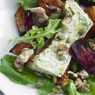 Roasted Vegetable and Ricotta Salad
