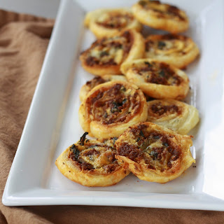 Cheesy Chorizo Pinwheels