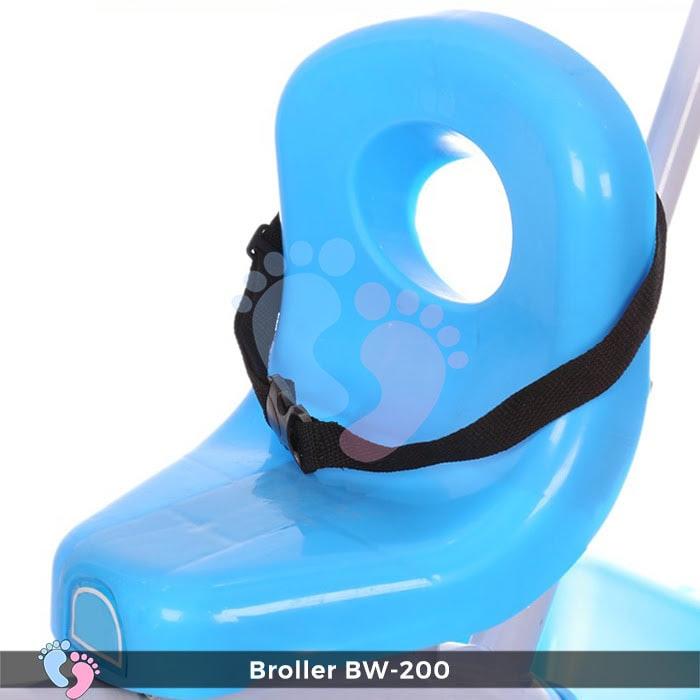 Xe đạp 3 bánh Broller XD3-200 có cây đẩy 13