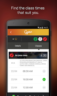 Gymr (Fitness on demand)- screenshot thumbnail
