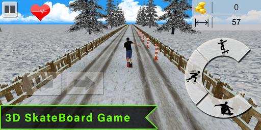 Code Triche Flip Skater Game,Pro Skateboard Endles 3D game mod apk screenshots 3