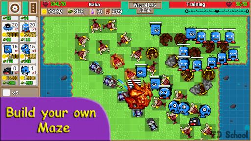Tower Defense School - Online TD Battles Strategy apktram screenshots 1