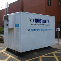 Fridge Trailer on Hire For NHS