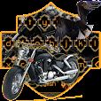 Motorcycle Driving Keyboard Theme