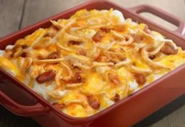 Crunchy Onion Bacon Potatoes Recipe