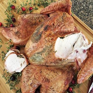 Spatchcock Smoke Roasted Turkey