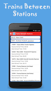 Indian Rail Offline Time Table