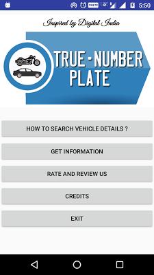 True Number Plate - screenshot