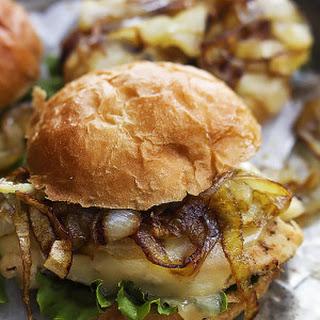 French Onion Chicken Sliders