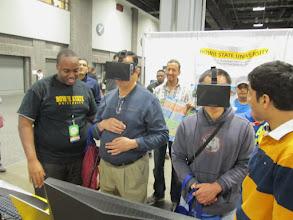 Photo: Virtual Reality Simulation using Oculus Rift