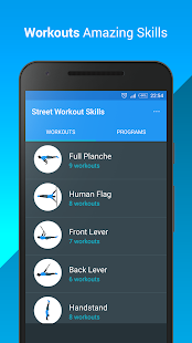 Street Workout Skills - náhled