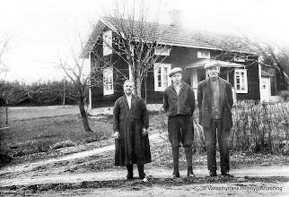 Photo: Anna Rydberg, Stig Rydberg, Karl Rydberg, Stenkullen 1930