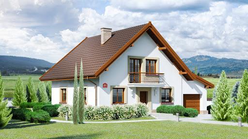 projekt Dom przy Oliwkowej 4 H
