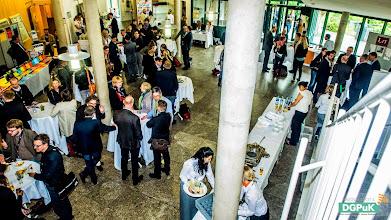 """Photo: 59. Jahrestagung der DGPuK über """"Digitale Öffentlichkeit(en)"""" an der Universität Passau  Mittagspause   Foto: Janertainment Janine Amberger"""