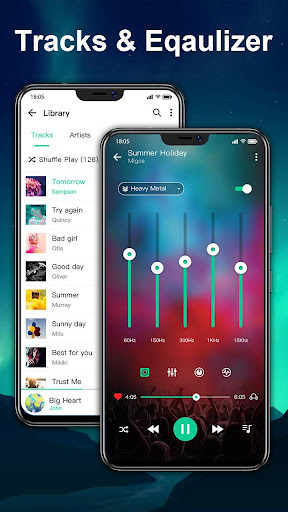 Music player & Video player with equalizer 1.1.2 screenshots 4
