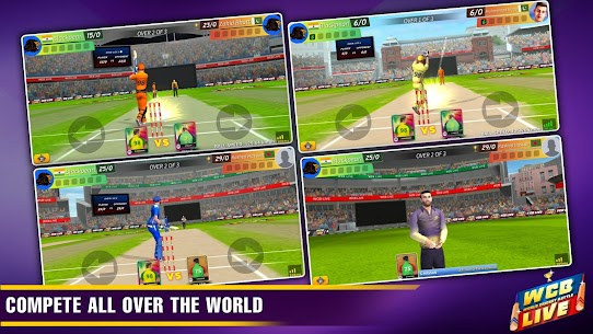 WCB LIVE Cricket Multiplayer:Play PvP Cricket Game 2