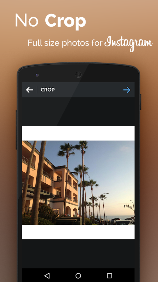 Square InstaPic No Crop Photo- screenshot