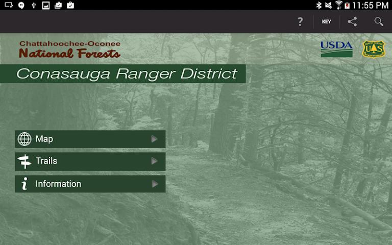 android Conasauga Ranger District Screenshot 8