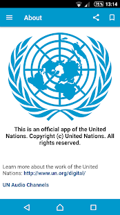 UN News Reader- screenshot thumbnail
