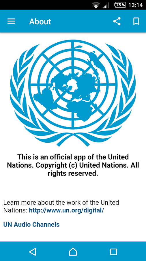 UN News Reader- screenshot