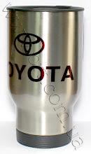 Photo: Термос-кружка в авто с логотипом Тойота