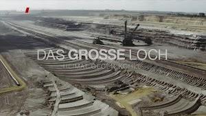 Braunkohlengrube, Bild aus Video.