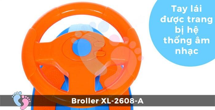 Xe lắc cho bé Broller XL-2608A 8