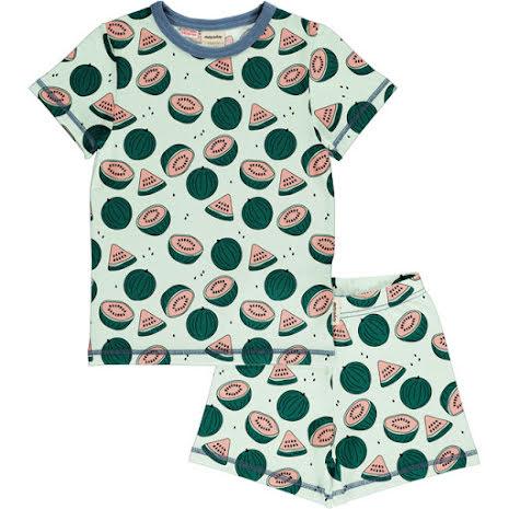 Maxomorra Pyjamas Set SS Watermelons