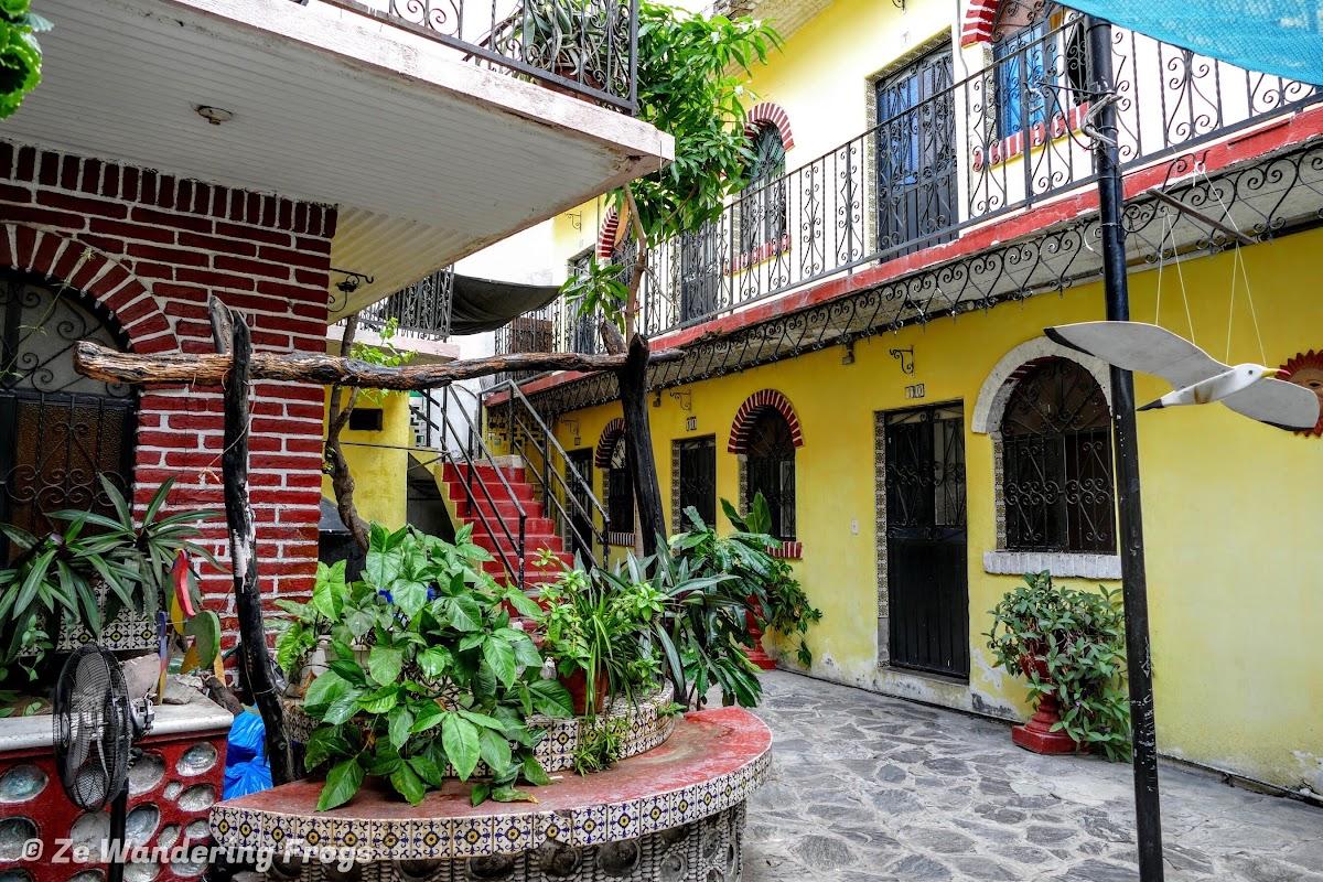 Posada courtyard